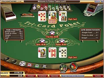 online poker flash game