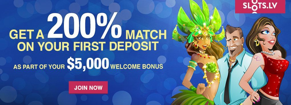 $10 No Deposit Bonus Available at Slots LV Casino