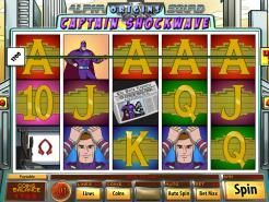 Captain Shockwave Slots